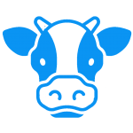 42968504 cow icon 150x150 - خانه