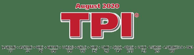 tpi - فرمول TPI آگوست 2020